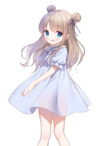 Rating: Safe Score: 4 Tags: 1girl bangs blue_bow blue_dress blue_eyes blush bow brown_hair chitosezaka_suzu double_bun dress eyebrows_visible_through_hair hair_ribbon long_hair open_mouth original puffy_short_sleeves puffy_sleeves purple_ribbon revision ribbon see-through see-through_silhouette short_sleeves simple_background solo standing white_background User: DMSchmidt