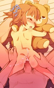 Rating: Explicit Score: 32 Tags: 1boy 1girl animated blush brown_hair cum gif kiririn open_mouth penis teddy_bear teeth twin_tails User: Dizlh