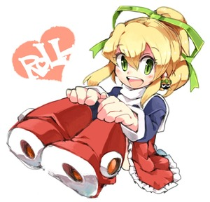 Rating: Safe Score: 0 Tags: 1girl blonde_hair blush boots character_name dress flat_chest green_eyes hair_between_eyes hair_ribbon hands_on_own_knees high_ponytail iroyopon long_hair looking_at_viewer metool open_mouth ponytail red_footwear ribbon rockman rockman_(classic) rockman_8 roll sidelocks sitting skirt smile solo teeth User: DMSchmidt