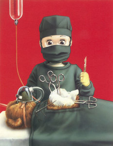 Rating: Safe Score: 4 Tags: 1girl face_mask mask playing_doctor scalpel simple_background source_request stuffed_animal stuffed_toy stuffing surgery tagme teddy_bear trevor_brown User: mythified