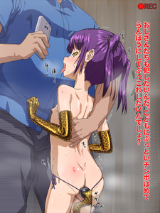 Rating: Explicit Score: 0 Tags: 1boy 1girl ? anal anal_object_insertion ass censored elbow_gloves flat_chest gloves hand_on_another's_back hand_on_back holding holding_phone japanese leopard_print mosaic_censoring nannaru_(nananana) nipples object_insertion open_mouth original pantsu phone profile recording side-tie_panties smartphone standing text tied_hair tongue tongue_out translation_request underwear User: Domestic_Importer