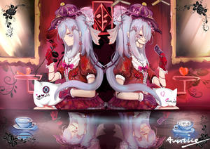 Rating: Safe Score: 0 Tags: 1girl abstract abstract_background absurdres asymmetrical_gloves bleeding blood bonnet bow card closed_mouth cup dress dual_persona earrings floral_print flower frilled_gloves frills from_side galo_(zhan_jian_shao_nyu) glasgow_smile gloves hair_bun hair_ornament hairclip hand_on_lap hand_up hat heart highres holding holding_card holding_flower indoors jewellery light lolita_fashion long_hair mirror pink_bow profile purple_gloves purple_hair purple_hat purple_ribbon red_dress red_gloves red_ribbon red_rose reflection ribbon rose short_sleeves signature sitting smile star star_earrings staring symmetrical_pose warship_girls_r yimaxue yukikaze_(zhan_jian_shao_nyu) User: DMSchmidt