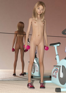 Rating: Explicit Score: 1 Tags: 1girl 3d_lolicon_pack 3dcg 48888stockcarman ass blonde_hair clitoral_hood exercise_bike flat_chest hazel_eyes long_hair looking_at_viewer mirror nipples nude photorealistic pussy reflection shoes smile solo uncensored weights User: Software