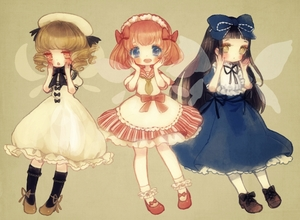 Rating: Safe Score: 0 Tags: 3girls :o ankle_socks black_hair blonde_hair blue_eyes blush bow chestnut_mouth dress drill_hair fairy_wings hair_bow hands_on_own_face hat hat_ribbon headdress high_heels kneehighs long_hair looking_at_viewer luna_child mary_janes multiple_girls open_mouth pantyhose red_eyes red_hair ribbon shoes short_hair simple_background star_sapphire sunny_milk tan_background touhou_project twin_tails wings yellow_eyes yujup User: ShizKoE2