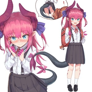 Rating: Safe Score: 7 Tags: ! 2girls alternate_costume asymmetrical_horns backpack bag black_footwear black_skirt blue_eyes character_doll collared_shirt curled_horns dragon_girl dragon_horns dragon_tail elizabeth_bathory_(fate) elizabeth_bathory_(fate)_(all) fate/grand_order fate_(series) fujimaru_ritsuka_(female) full_body highres horns loafers long_hair long_sleeves maru_(maru1625) multiple_girls neck_ribbon panchira pantsu pantyshot_(standing) pink_hair pleated_skirt pointy_ears red_ribbon ribbon school_bag school_uniform shimapan shirt shoes skirt socks standing striped suspender_skirt suspenders tail underwear upskirt white_legwear white_shirt younger User: DMSchmidt