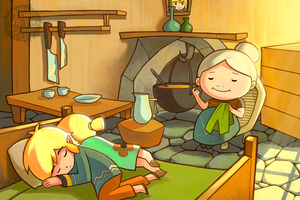 Rating: Safe Score: 0 Tags: 1boy 2girls aquanut aryll blonde_hair brother_and_sister family grandma grandmother_(ww) knitting link link's_grandma multiple_girls nintendo pointy_ears portrait sewing siblings sleeping smile the_legend_of_zelda the_legend_of_zelda:_the_wind_waker toon_link tunic twin_tails User: Domestic_Importer