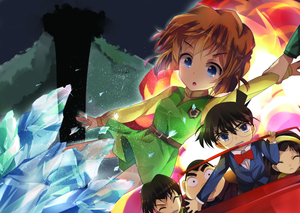 Rating: Safe Score: 0 Tags: 2girls 3boys ^_^ belt bisonbison black_hair blue_eyes brown_hair car closed_eyes crystal edogawa_conan explosion haibara_ai hairband kojima_genta meitantei_conan multiple_boys multiple_girls short_hair skirt surprised tsuburaya_mitsuhiko yoshida_ayumi User: DMSchmidt