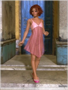 Rating: Questionable Score: 1 Tags: 1girl 3d_custom_girl 3dcg artist_name blue_eyes bow building door hair_bow nopan original outdoors photorealistic red_hair sandals see-through short_hair sidewalk small_breasts smile solo spudnuts transparent_clothes User: Software