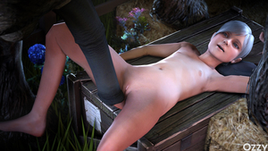 Rating: Explicit Score: 12 Tags: 1boy 1girl 3dcg age_difference armpits between_legs brown_eyes clitoral_hood clothed_male_nude_female flat_chest flower head_out_of_frame highres lying metal_gear_solid metal_gear_solid_4 nipples nude on_table outdoors ozzysfm photorealistic plant pussy short_hair silver_hair sunny_gurlukovich table uncensored User: Software