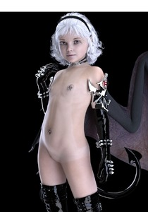 Rating: Explicit Score: 41 Tags: 1girl 3dcg arm_gloves bat_wings black_gloves black_legwear brown_eyes choker demon_girl demon_tail elbow_gloves flat_chest freckles gloves hairband highres latex latex_gloves legwear light_smile looking_at_viewer mayomaru navel_piercing nipple_piercing nude original photorealistic piercing pussy short_hair silver_hair smile succubus tail tan tanline thighhighs uncensored white_hair wings User: Software