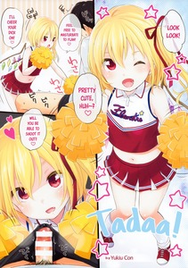 Rating: Explicit Score: 3 Tags: 1boy 1girl absurdres alternate_costume artist_name bar_censor bare_shoulders black_hair blonde_hair censored cheerleader english flandre_scarlet hair_ribbon hard_translated highres midriff navel one_eye_closed open_mouth penis pom_poms pov_eye_contact ribbon scan skirt speech_bubble touhou_project translated vampire wings yukiu_con zettai_ryouiki User: Domestic_Importer