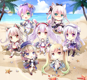Rating: Safe Score: 0 Tags: 6+girls :t ;d ahoge anchor animal animal_ears ankle_lace-up arm_warmers azur_lane bangs bare_shoulders beach belt_buckle beret bird black_bodysuit black_bow black_dress black_footwear black_legwear black_skirt blonde_hair blue_footwear blue_hat blue_sky blush bodysuit bow bowtie braid breasts buckle bunny_ears cannon cat_ears cat_hair_ornament chain chestnut_mouth chibi closed_mouth cloud cloudy_sky cowtits crab crop_top cross-laced_footwear crown cygnet_(azur_lane) detached_sleeves dress eldridge_(azur_lane) eyebrows_visible_through_hair facial_mark fingerless_gloves garter_straps gloves gradient_hair green_eyes green_hair gyaza hair_between_eyes hair_bow hair_ornament hair_ribbon hairband hammann_(azur_lane) hat high_heels high_ponytail highres holding horizon iron_cross jacket javelin_(azur_lane) laffey_(azur_lane) large_breasts long_hair long_sleeves looking_at_viewer loose_socks machinery medium_breasts mini_crown multicoloured_hair multiple_girls navel nose_blush ocean off-shoulder_dress off_shoulder one_eye_closed open_mouth palm_tree parted_lips pink_jacket plaid plaid_skirt pleated_skirt ponytail pout puffy_long_sleeves puffy_short_sleeves puffy_sleeves purple_eyes purple_hair purple_legwear purple_skirt red_belt red_eyes red_footwear red_gloves red_hairband red_neckwear red_ribbon red_skirt remodel_(azur_lane) ribbon sailor_dress searchlight shell shirt short_hair short_sleeves silver_hair skirt sky sleeveless sleeveless_dress smile socks standing starfish striped striped_bow sunlight tail thick_eyebrows thighhighs torpedo tree turret twin_tails two_side_up v-shaped_eyebrows very_long_hair water white_dress white_footwear white_gloves white_hat white_legwear white_shirt wolf_ears wolf_girl wolf_tail wrist_cuffs yuudachi_(azur_lane) z23_(azur_lane) User: DMSchmidt
