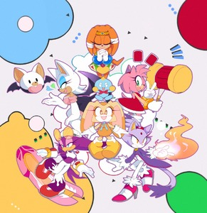 Rating: Safe Score: 0 Tags: 6+boys amy_rose animal_ears beak bellbottoms blaze_the_cat blue_eyes bunny cat cat_ears cat_tail cheese_(sonic) circlet closed_eyes cream_the_rabbit dress elbow_gloves eyelashes fire gloves green_eyes hairband hands_together heart high_heels highres kemono makeup mascara motobugg multiple_boys multiple_girls piko_piko_hammer pink_hair praying rouge_the_bat shoes short_hair smile sonic_riders sonic_the_hedgehog star star-shaped_pupils symbol-shaped_pupils tail tikal_the_echidna v wave_the_swallow yellow_eyes User: Domestic_Importer