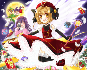 Rating: Safe Score: 0 Tags: brown_eyes brown_hair camera cardcaptor_sakura daidouji_tomoyo dress elbow_gloves gift gloves highres hoshi_no_tsue kerberos kinomoto_sakura li_meiling li_xiaolang magical_girl moon nekoko_(mono96) short_hair thighhighs wand wings User: DMSchmidt