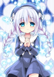 Rating: Safe Score: 0 Tags: 1girl 2017 alternate_hairstyle balloon beret blue_background blue_dress blue_eyes blue_hair blue_hat blush bow braid character_name closed_mouth collarbone dated dress english eyebrows_visible_through_hair glowing gochuumon_wa_usagi_desu_ka? hair_between_eyes hands_clasped happy_birthday hat himarisu_(hida_mari) kafuu_chino light_particles long_hair long_sleeves looking_at_viewer low_twintails number own_hands_together sailor_dress silhouette smile solo star striped striped_bow twin_braids twin_tails vertical-striped_background vertical_stripes white_bow User: DMSchmidt