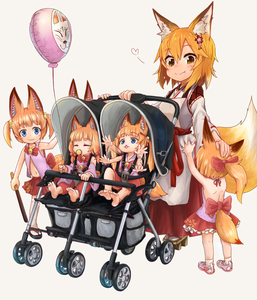 Rating: Safe Score: 5 Tags: 6+girls :3 afterimage animal_ear_fluff animal_ears backless_outfit balloon bell blonde_hair blue_eyes crossover doitsuken eyebrows_visible_through_hair fang fang_out flailing fox_ears fox_tail hair_bobbles hair_ornament japanese_clothes jingle_bell kemomimi_oukoku_kokuei_housou long_hair miko mikoko_(kemomimi_oukoku_kokuei_housou) multiple_girls multiple_persona orange_hair pacifier petting ponytail red_skirt senko_(sewayaki_kitsune_no_senko-san) sewayaki_kitsune_no_senko-san short_hair simple_background skirt smile stroller tail toddlercon twin_tails virtual_youtuber white_background yellow_eyes younger User: Domestic_Importer