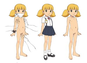 Rating: Explicit Score: 9 Tags: 1girl age_difference barefoot bdsm blonde_hair clothed feet fingering flat_chest gag green_eyes highres inspector_gadget manacles mary_janes multiple_boys multiple_views name_tag nishi_iori nude penny_(inspector_gadget) pussy restrained school_uniform shoes smile standing uncensored User: Domestic_Importer