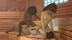 Rating: Explicit Score: 17 Tags: 1boy 2girls 3dcg age_difference anonymous53179 barefoot blue_eyes brown_skin cowgirl_position flat_chest freckles heather imminent_penetration interracial kneeling long_hair multiple_girls navel nipples nude penis photorealistic red_hair tisha User: fantasy-lover