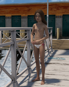 Rating: Questionable Score: 18 Tags: 1girl 3dcg 4888stockcarman brown_hair flat_chest highres long_hair looking_at_viewer nail_polish nipples nude pantsu pepper-4888 photorealistic pose side-tie_panties underwear water User: fantasy-lover
