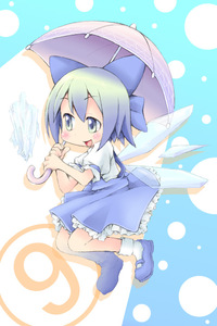 Rating: Safe Score: 0 Tags: (9) 1girl bow cirno ham_(points) smile solo team_shanghai_alice touhou_project umbrella ⑨ User: DMSchmidt