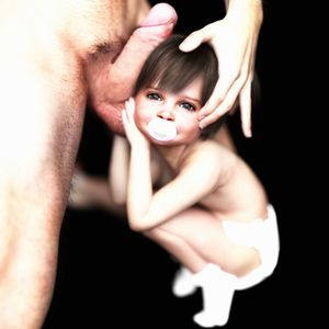 Rating: Explicit Score: 21 Tags: 1boy 1girl 3dcg age_difference flat_chest hetero highres holding_balls looking_at_viewer nipples nude original pacifier penis penis_on_face photorealistic slimdog standing toddlercon uncensored User: lalilu1234
