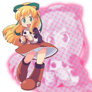 Rating: Safe Score: 2 Tags: 1girl blonde_hair blush_stickers boots capcom full_body green_eyes hair_ribbon ki_(adotadot) knee_boots long_hair long_sleeves looking_at_viewer open_mouth pantsu petticoat ponytail red_skirt ribbon rockman rockman_(classic) roll skirt solo standing thighs underwear wind_lift zoom_layer User: DMSchmidt
