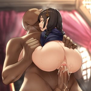 Rating: Explicit Score: 8 Tags: 1girl anus ass ass_focus bar_censor black_hair blush bottomless braid brown_skin censored closed_eyes clothed_female_nude_male copyright_request cum cum_in_pussy dark_skinned_male elf faceless faceless_male hairband hetero highres hood hood_down hoodie houtengeki labia large_penis nude open_mouth penis pointy_ears pussy pussy_juice sex short_braid short_stack sidelocks sideways_mouth solo_focus straddling suspended_congress sweat twin_braids vaginal User: Domestic_Importer