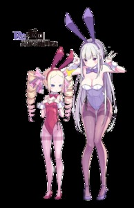 Rating: Safe Score: 4 Tags: 2girls :o >:o age_difference alternate_costume animal_ears annoyed bangs bare_shoulders beatrice_(re:zero) black_legwear blonde_hair blue_eyes blunt_bangs blush bow bowtie breast_envy breasts bunny_ears bunny_girl bunny_tail bunnysuit butterfly butterfly-shaped_pupils closed_mouth copyright_name covered_navel detached_collar double_v drill_hair emilia_(re:zero) english eyebrows eyebrows_visible_through_hair fake_animal_ears full_body hair_ornament hair_ribbon hairband hands_on_own_chest hands_up high_heels highleg highleg_leotard lace leaning_forward legs legs_together leotard light_smile logo long_hair long_legs looking_at_another looking_at_viewer medium_breasts multiple_girls open_mouth pantyhose parted_bangs pink_legwear pink_ribbon purple_bow purple_bowtie purple_eyes purple_hair purple_shoes re:zero_kara_hajimeru_isekai_seikatsu red_bow red_bowtie red_leotard red_shoes ribbon sando_(dukedevil) shoes short_eyebrows sideboob sidelocks silver_hair simple_background small_breasts smile standing straight_hair strapless strapless_leotard swept_bangs symbol-shaped_pupils tail thigh_gap thighband_pantyhose transparent_background triangle_mouth twin_drills v very_long_hair white_background white_leotard wrist_cuffs User: Domestic_Importer
