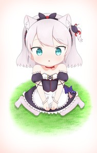 Rating: Safe Score: 1 Tags: 1girl :o absurdres american_flag american_flag_print animal_ears apron azur_lane bangs bare_shoulders black_bow black_dress black_hairband blue_bow blue_eyes blush bow cat_ears cat_hair_ornament choker collarbone detached_sleeves dress eyebrows_visible_through_hair flag_print frilled_apron frills grass hair_bow hair_ornament hair_ribbon hairband hammann_(azur_lane) highres long_hair looking_at_viewer no_shoes on_grass one_side_up pantyhose parted_lips puffy_short_sleeves puffy_sleeves red_choker red_ribbon remodel_(azur_lane) ribbon short_sleeves silver_hair sitting solo strapless strapless_dress waist_apron wariza white_apron white_legwear wrist_cuffs younger yuujoduelist User: DMSchmidt