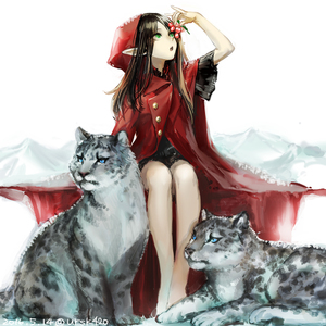 Rating: Safe Score: 2 Tags: 1girl bangs bare_legs blue_eyes brown_hair buttons dated flat_chest green_eyes holding hood hoodie long_hair looking_up open_mouth original parted_bangs pointy_ears short_sleeves signature simple_background sitting snow snow_leopard trench_coat uraki_(tetsu420) white_background User: DMSchmidt