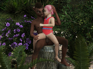 Rating: Explicit Score: 12 Tags: 1boy 1girl 3dcg age_difference barefoot censored cum elf flat_chest hand_on_another's_head interracial l3d outdoors penis photorealistic pink_hair pussy sandals sex sitting vaginal User: fantasy-lover