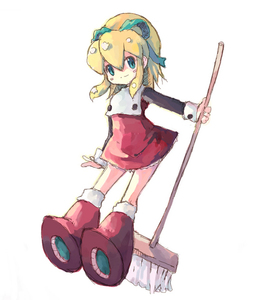Rating: Safe Score: 2 Tags: 1girl artist_request boots broom capcom knee_boots red_skirt rockman rockman_(classic) roll skirt solo tagme User: DMSchmidt