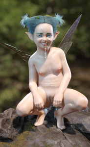 Rating: Explicit Score: 8 Tags: 1girl 3dcg blue_eyes blue_hair cum facial fairy_wings fantasy flat_chest navel nude oral outdoors pussy pussy_juice rock wings User: buffer