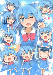 Rating: Safe Score: 0 Tags: +_+ 6+girls ;d arm_behind_back arm_up bangs blue_dress blue_eyes blue_hair blush_stickers bow bowtie bright_pupils chibi cirno clenched_hand clenched_hands clone closed_eyes cowboy_shot dress eyebrows_visible_through_hair fang grin hair_ribbon head_tilt heart highres index_finger_raised lifting_person looking_at_another looking_at_viewer lying_on_another minigirl mizune_(winter) multiple_girls one_eye_closed open_mouth outstretched_arm pinafore_dress puffy_short_sleeves puffy_sleeves red_neckwear ribbon shirt short_hair short_sleeves sitting sitting_on_person skin_fang smile spread_arms standing teeth touhou_project white_pupils white_shirt wings User: DMSchmidt