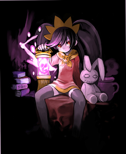 Rating: Safe Score: 3 Tags: 1girl ashley bangs black_background black_hair black_legwear book doll dress hair_ornament lantern long_sleeves looking_at_viewer made_in_wario pot red_dress red_eyes red_footwear sailor_collar shigehiro_(hiroi_heya) sidelocks simple_background skull solo spread_legs thighhighs twin_tails yellow_sailor_collar User: DMSchmidt