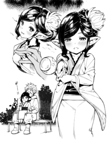 Rating: Safe Score: 3 Tags: 0_0 1boy 1girl :d arulumaya bangs bench bite_mark blush breasts bush candy_apple collarbone cowboy_shot cropped_legs eating fingernails flower food foreshortening from_above granblue_fantasy greyscale hair_flower hair_ornament half-closed_eyes harvin holding_hands incoming_food japanese_clothes kimono long_sleeves looking_at_viewer mole mole_under_eye monochrome multiple_views mushi024 obi open_mouth outdoors outstretched_arm pants parted_bangs pointy_ears sash shiny shiny_hair shoes short_hair sidelocks simple_background sitting sitting_on_lap sitting_on_person small_breasts smile standing tied_hair upper_body white_background zouri User: DMSchmidt