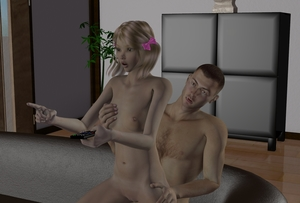 Rating: Explicit Score: 3 Tags: 1boy 1girl 3d_custom_girl 3dcg blonde_hair bow couch girl_on_top hair_bow hair_ornament hand_on_another's_chest hand_on_another's_hip nipples nude open_mouth photorealistic plant pointing pussy remote reverse_upright_straddle sex short_hair sitting_on_lap small_breasts thor3d twin_tails User: Software
