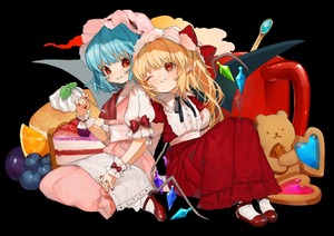 Rating: Safe Score: 0 Tags: 2girls ;t adapted_costume almond ascot bangs bat_wings bear black_neckwear black_ribbon blonde_hair blue_hair blueberry blush bobby_socks bow cream crystal dress eyebrows_visible_through_hair fang_out flandre_scarlet food frilled_shirt_collar frills fruit gotoh510 grapes hand_up handkerchief hat hat_bow head_tilt heart high_heels holding holding_hands holding_spoon interlocked_fingers knees_up long_dress long_hair looking_at_another mary_janes mob_cap multiple_girls nail_polish neck_ribbon one_eye_closed one_side_up orange pancake parted_lips pink_dress pink_hat pointy_ears puffy_short_sleeves puffy_sleeves red_bow red_dress red_eyes red_footwear red_nails red_neckwear remilia_scarlet ribbon sash shoes short_sleeves siblings sisters sitting smile socks spoon touhou_project transparent_background wariza white_legwear white_sash wings wrist_cuffs User: DMSchmidt