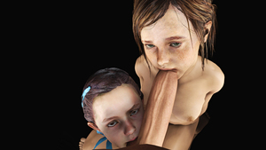 Rating: Explicit Score: 14 Tags: 1boy 2girls 3dcg age_difference biohazard biohazard_2 brown_eyes brown_hair ellie_(the_last_of_us) fellatio grey_eyes hair_ornament hair_ribbon highres kneeling looking_at_viewer looking_up multiple_girls natalia_korda nude oral penis photorealistic pov pov_eye_contact ribbon simple_background source_filmmaker standing sucking_testicles testicles the_last_of_us uncensored User: Software