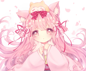 Rating: Safe Score: 1 Tags: 1girl animal animal_ear_fluff animal_ears animal_on_head azur_lane bangs bow cat_ears cherry_blossoms clenched_hands dog dog_on_head eyebrows_visible_through_hair flower fur_collar hair_bow hair_flower hair_ornament hair_ribbon japanese_clothes kimono kisaragi_(azur_lane) long_hair long_sleeves obi on_head petals pink_bow pink_eyes pink_flower pink_hair pink_kimono pink_sash polka_dot polka_dot_bow ribbon sash shiba_inu sidelocks solo very_long_hair white_background wide_sleeves yorica User: DMSchmidt