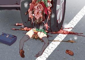 Rating: Explicit Score: 1 Tags: car girls_und_panzer guro harasaki imminent_death intestines scat shoulder_bag User: kuro