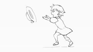 Rating: Safe Score: 1 Tags: 1girl animated arcsinus dress hat monochrome mp4 original running short_hair short_sleeves simple_background sketch solo video white_background User: DMSchmidt