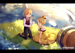 Rating: Safe Score: 0 Tags: 1boy 1girl allen_avadonia bare_arms bare_shoulders black_neckwear blonde_hair blue_eyes blurry blush bottle brother_and_sister brown_footwear collarbone cork corked_bottle daisy depth_of_field dress evillious_nendaiki flat_chest flower frilled_dress frills grass hair_bun hair_ornament hairclip highres hmniao holding holding_bottle in_bottle in_container kagamine_len kagamine_rin kneeling light_particles message_in_a_bottle necktie ocean paper regret_message_(vocaloid) riliane_lucifen_d'autriche shirt shoes short_hair siblings sleeveless sleeveless_blazer sleeveless_dress smile song_name sparkle sparkle_background sunset twilight twins vocaloid water_surface white_flower white_shirt yellow_dress younger User: DMSchmidt