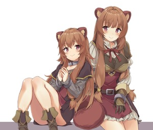 Rating: Safe Score: 3 Tags: 2girls absurdres animal_ears armour bangs belt blush boots breasts brown_footwear brown_gloves brown_hair closed_mouth collar convenient_leg cowtits cuffs dual_persona frilled_skirt frills gloves grey_shirt handcuffs hands_up highres knees_together_feet_apart knees_up large_breasts leaning_on_person long_hair long_sleeves looking_at_viewer miniskirt multiple_girls neck_ribbon no_socks own_hands_together purple_eyes raccoon_ears raccoon_girl raccoon_tail raphtalia red_neckwear ribbed_shirt ribbon ryan_edian shirt sidelocks simple_background sitting skirt sleeves_past_wrists smile tail tate_no_yuusha_no_nariagari thighs white_background white_shirt white_skirt User: DMSchmidt