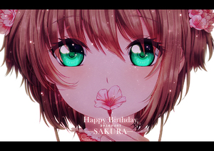 Rating: Safe Score: 0 Tags: 1girl 2016 brown_hair cardcaptor_sakura character_name dated eyebrows_visible_through_hair flower green_eyes hair_between_eyes hair_flower hair_ornament happy_birthday holding holding_flower kinomoto_sakura looking_at_viewer pink_flower portrait short_hair signature simple_background solo white_background yvonne_(a715042007) User: DMSchmidt