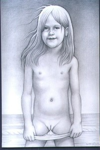 Rating: Questionable Score: 11 Tags: 1993 1girl artist_name long_hair looking_at_viewer navel nipples pantsu pantsu_pull pussy richard_harris solo underwear white_pantsu User: mythified