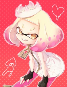 Rating: Safe Score: 1 Tags: +_+ 1girl black_gloves brown_eyes cowboy_shot domino_mask dress emblem fingerless_gloves gloves gradient_hair hands_on_legs heart hime_(splatoon) honotai leaning_forward looking_at_viewer mask multicoloured_hair open_mouth pantyhose pink_hair pink_legwear polka_dot polka_dot_background red_background short_dress sleeveless sleeveless_dress smile solo sparkle splatoon splatoon_2 squid standing tentacle_hair white_dress white_hair zipper zipper_pull_tab User: DMSchmidt