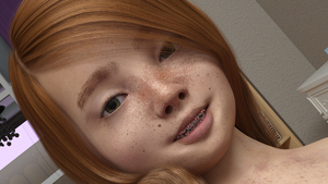 Rating: Safe Score: 14 Tags: 1girl 3dcg braces close-up dutch_angle freckles green_eyes looking_at_viewer lunarctic photorealistic pollyanna smile User: fantasy-lover
