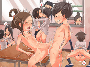 Rating: Explicit Score: 23 Tags: 3boys 6+girls anus black_hair blush brown_hair child_on_child closed_mouth clothed_female_nude_female clothed_female_nude_male clothed_male_nude_female clothed_male_nude_male clothed_sex collarbone cum cum_in_pussy desk drooling eyebrows_visible_through_hair flat_chest floor group_sex half-closed_eyes hetero imuneko leaning_back long_sleeves lying mating_press multiple_boys multiple_girls nude on_back open_clothes open_mouth open_shirt orgy original penis profile pussy saliva school school_uniform sex shiny shiny_skin shirt shoes short_hair shota skirt spread_legs standing testicles textless tongue tongue_out uncensored vaginal window wooden_floor User: Domestic_Importer