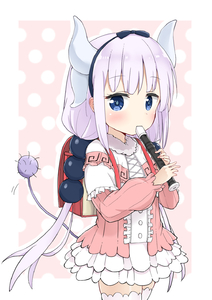 Rating: Safe Score: 1 Tags: 10s 1girl backpack bag bangs beads black_bow black_hairband blouse blue_eyes blunt_bangs bow buttons capelet center_frills cowboy_shot cross-laced_clothes dragon_girl dragon_horns dress eyebrows_visible_through_hair frilled_capelet frilled_skirt frills fur_trim gothic_lolita hair_beads hair_bow hair_ornament hairband hands_up highres horns instrument jitome kanna_kamui kobayashi-san_chi_no_maidragon lavender_hair legs_together lolita_fashion long_hair long_sleeves looking_at_viewer low_twintails microdress music playing_instrument racchi. randoseru recorder school_bag skirt solo standing tail thighhighs twin_tails white_legwear User: Domestic_Importer